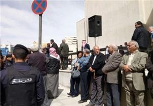 اعتصام للمتقاعدين العسكريين في دابوق