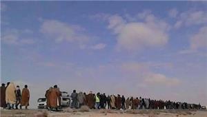 متعطلو العقبة يصلون عمان ويواصلون طريقهم إلى الديوان الملكي