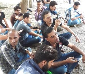 استمرار اعتصام شباب الكرك المتعطلين عن العمل
