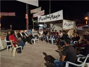 استمرار اعتصام أبناء ذيبان المتعطلين عن العمل لليوم العاشر على التوالي