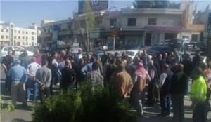 استمرار اعتصام العمال المفصولين من شركة
