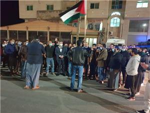 معان: عشرات المعلمين ينفذون مسيرة نصرةً لنقابتهم