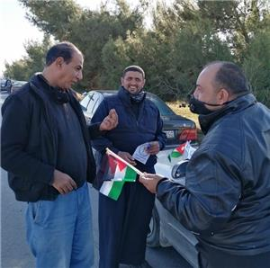 مسيرة لمعلمين في الكرك نصرةً ودعماً لنقابتهم