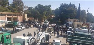 إضراب للعاملين في مديريات المياه بمحافظة الكرك