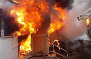 حريق يودي بحياة عاملين بمحل قهوة في البلقاء