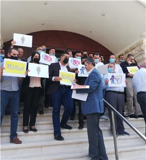 صحفيون وعاملون في المواقع الالكترونية يلوحون باعتصام الأربعاء